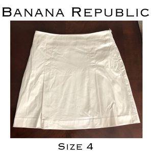 Banana Republic Pleated Stretch Skirt Size 4